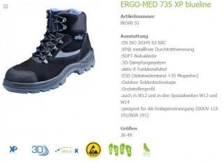 b68c8602adf Pracovní obuv Atlas ERGO-MED 735 XP S3 W12 empty